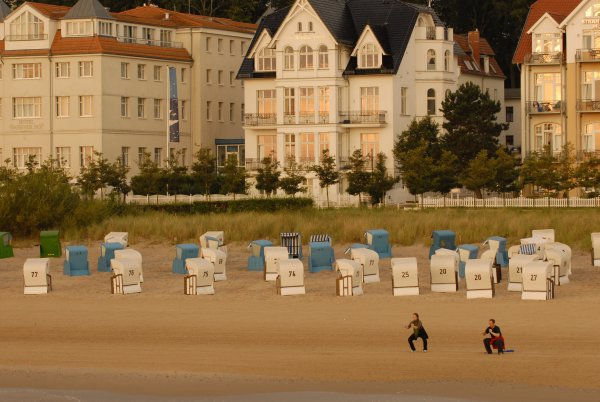 Ostsee-Strand der Insel Usedom