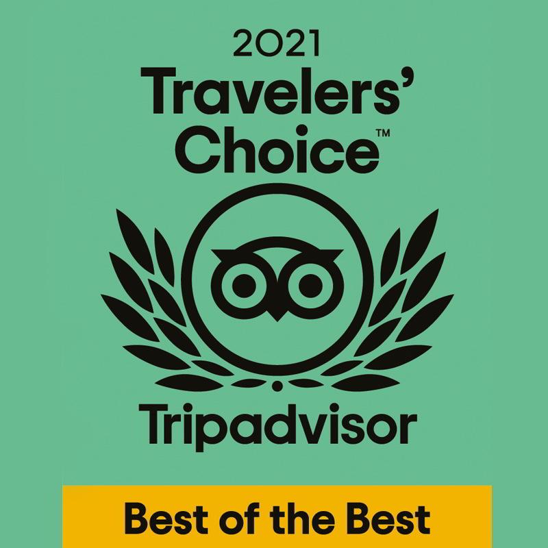 Wir gehören zu den Top 1% der beliebtesten Hotels auf der ganzen Welt!